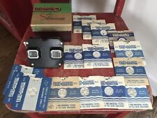 View-Master Stereoscope Viewer, Model C in Original Box with 15 reels