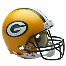 GREEN BAY PACKERS RIDDELL NFL FULL SIZE AUTHENTIC PROLINE FOOTBALL HELMET