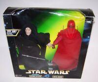 "Star Wars Emperor Palpatine & Royal Guard 12"" Talking Action Figures Kenner 1998"