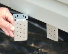 Mobile Home Steel Bracket for Vinyl Skirting (10 Pack)