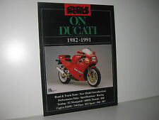On Ducati 1982-1991 - Cycle World Reprint - Brooklands Books