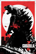 24X36Inch Art GODZILLA Movie POSTER 2014 Gojira P03