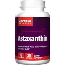 Jarrow Formulas, Inc. Astaxanthin 12 mg 30 Sgels