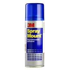 3M SprayMount (400ml) Permanent Adhesive Glue Spray Can CFC-Free Spray Mount