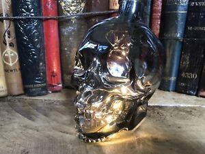 Crystal Head skull vodka (shape) bedside desk lamp led lights Man Cave Toy 🌈