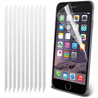 Apple iPhone 8 Plus-Full Cover Face Curved Anti-Scratch LCD Screen Protector X10