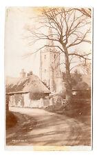 Preston - Real Photo Postcard c1910 by J White & Son, Littlehampton