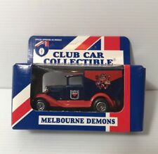AFL MELBOURNE DEMONS Car Collectibles Model A Ford 1995 Matchbox Toys NEW