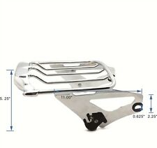 Chrome Detachables Luggage Rack For Harley 09-17 Touring Road King Road Glide