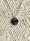 Tiffany & Co snowflake obsidian round bubble pendant and chain
