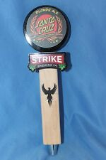 Strike Brewing Santa Cruz Blonde Ale Tap Handle
