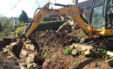 mini digger Thumb grapple for excavators up to 1.8 ton JCB 801 Kubota KH36 etc