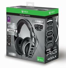Plantronics 400LX Gaming Headphones Headset For Xbox One X S LX1 Adapter & Mic $