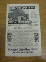 04/10/1947 Stockport County v Barrow [Division 3 North] (minor folds). Any fault