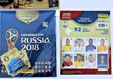 Panini World Cup 2018 - hardcover album starter + set 92 updates