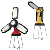 Super Bright USB Camping Hiking LED Lantern Rechargeable Tent Hanging Light Lamp