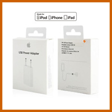 Caricatore Carica Batteria IPHONE 4 4S 5S 5C 6 6S 7 PLUS 8 MD813ZM/A Originale
