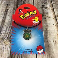 Pokemon Squirtle Necklace Choker Nintendo Officially Licensed Color Pendant