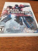 Transformers Cybertron Adventures Nintendo Wii