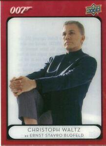 James Bond Villains & Henchmen Acetate Base Card #91 Ernst Stavro Blofeld