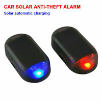 Car Solar Energy Alarm Dummy Security System Anti-theft Warning Flash LED Light