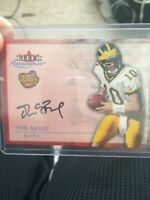 Tom Brady ROOKIE 2000 Fleer Autographics REPRINT Mint RC Card Signed AUTO RP