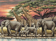 Anchor Maia collection Cross stitch kit -  African Sunset