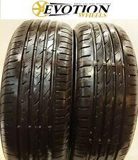 1855515 NEXEN 185 55 15 82V N BLUE PLUS Used Part Worn 6.8mm x 2 Tyres