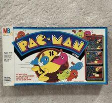 Used Vintage Pac Man Board Game Milton Bradley 1980s Rare