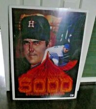 NOLAN RYAN limited-edition lithograph 5000 K's signed by Ryan & artist Ron Lewis
