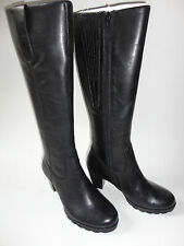 Gabor Schuhe Leder-Stiefel Stiefelette Gr.2 1/2 (Gr.35-36)schwarz zu Kleid Jacke