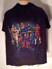 DC Comics Large T Shirt Aquaman Wonder Woman Green Lantern Superman Batman Flash