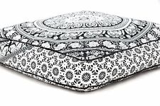 New Floor Square Pillowcase Pillow Meditation Mandala Cushion Seating Throw Co