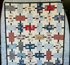 Old Guys Rule Quilt/Guys Lap Quilt/Antique Cars/Barbecue/Fishing/Grandpa Quilt