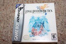 Final Fantasy Tactics (Nintendo Game Boy Advance GBA) NEW Factory Sealed
