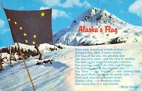 Postcard Alaska State Flag 49th State