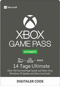 Xbox Game Pass Ultimate 14 Tage - Xbox Live Gold Download Code EU [per Email]