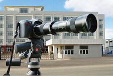 420-800mm f8.3-16 Telephoto zoom lens for Nikon D3200 D90 D60 Canon 5D II 7D 6D