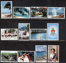 $Cayman Islands Sc#636-647 M/NH/VF, complete set, Cv. $56
