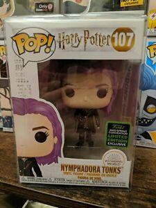 Nymphadora Tonks #107 Funko Exclusive Harry Potter Funko Pop Movies