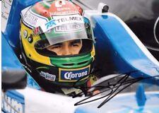 Sergio Perez signé T-SPORT Portrait British F3 Championnat 2008