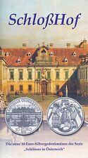 Österreich 10 Euro 2003 Silber Schloss Hof hgh im Blister