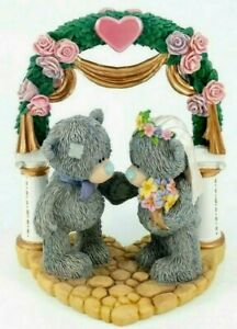 Me To You Tatty Teddy Bear Collectors Figurine - Uniting Our Love #40100 Retired