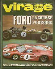 VIRAGE AUTO 1967 9 R8 GORDINI 1300 ALFA GT 1300 JUNIOR LANCIA FULVIA 1300 HF