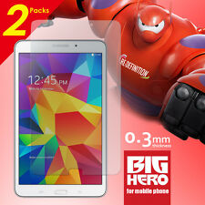 2 Packs Tempered Glass Screen Film Protector for Samsung Galaxy Tab4 8.0 T330