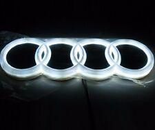 LED 4d White Logo Decoration Emblem Light Front Grill Audi Q3 Q5 A3 A4 A6