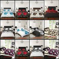 New Deluxe Duvet Set & Pillow Covers 3PCS 68 Pick Beautiful Design All Sizes