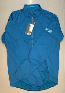 Rapha Pro Team Lightweight Wind Jacket Dark Blue Green XX Large New With Tag
