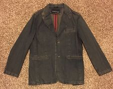 Kenneth Cole New York Denim Womens Denim Jean Jacket Medium