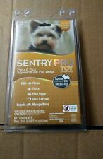 Sentry Pro Toy Dog Flea Tick Medicine 3 Month Supply 4-10lb